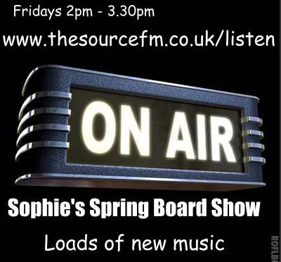 Spotify Playlist for Sophie's Spring Board Show